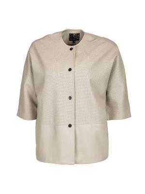 Куртка Snow Guard. Цвет: бежевый