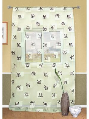 Штора на кулиске, Kyoto Kauffort. Цвет: бежевый