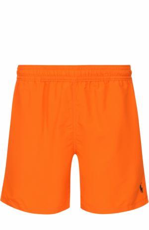 Плавки-шорты с карманами Polo Ralph Lauren. Цвет: оранжевый