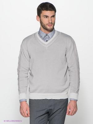 Пуловер Alfred Muller. Цвет: серый