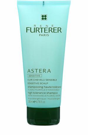 Шампунь для чувствительной кожи Astera Rene Furterer. Цвет: бесцветный
