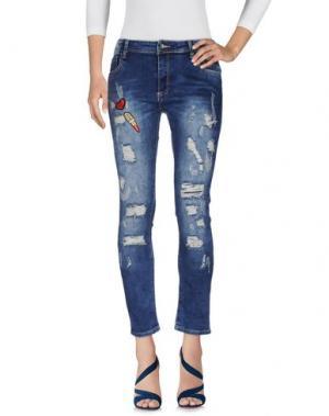 Джинсовые брюки SWEEWË. Цвет: синий