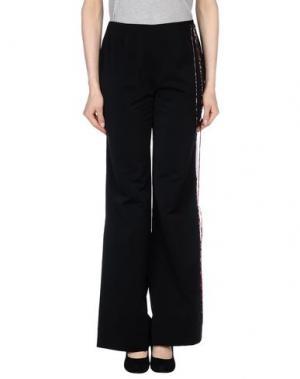 Повседневные брюки EXTE. Цвет: черный