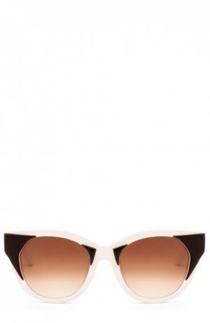 Солнцезащитные очки Thierry Lasry. Цвет: черно-белый