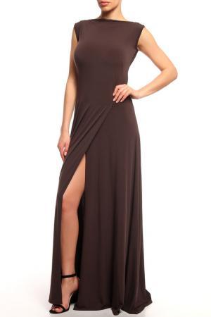 Платье Качели Alina Assi. Цвет: коричневый