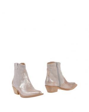 Полусапоги и высокие ботинки ZINDA. Цвет: светло-серый