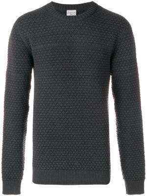Джемпер с круглым вырезом S.N.S. Herning. Цвет: серый