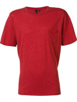 Футболка с круглым вырезом  Joes Jeans Joe's. Цвет: красный