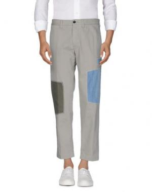 Джинсовые брюки DEPARTMENT 5. Цвет: светло-серый