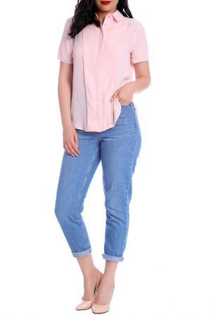 Блуза Moda di Chiara. Цвет: light pink