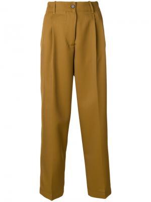 Строгие брюки Forte. Цвет: телесный