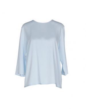 Блузка STRENESSE. Цвет: небесно-голубой