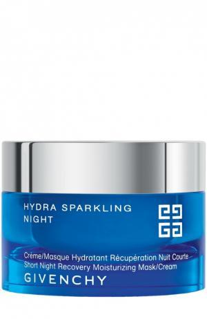 Увлажняющий ночной крем-маска Hydra Sparkling Givenchy. Цвет: бесцветный