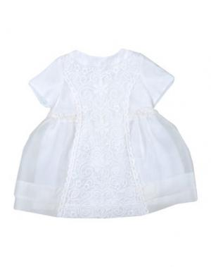 Платье I PINCO PALLINO I&S CAVALLERI. Цвет: белый