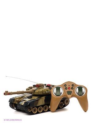 Радиоуправляемая игрушка Танк VELD-CO. Цвет: коричневый