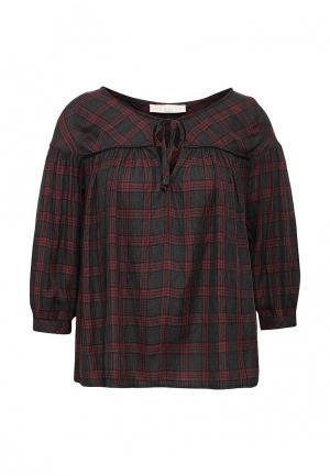 Блуза NewLily. Цвет: серый