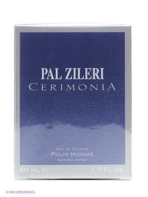 Туалетная вода CERIMONIA POUR HOMME, 50 мл PAL ZILERI. Цвет: прозрачный