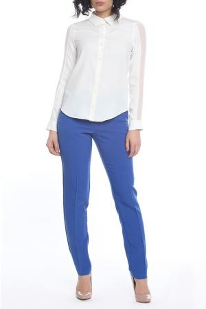 Брюки Emma Monti. Цвет: синий