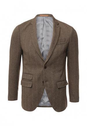 Пиджак Jack & Jones. Цвет: коричневый