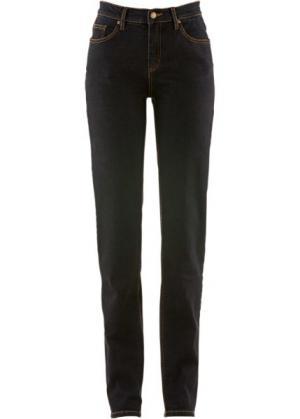 Классические джинсы-стретч, cредний рост (N) (черный) bonprix. Цвет: черный