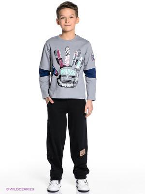 Комплект одежды PELICAN. Цвет: серый, черный