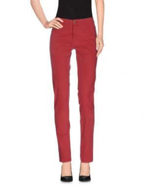 Повседневные брюки INTROPIA. Цвет: кирпично-красный