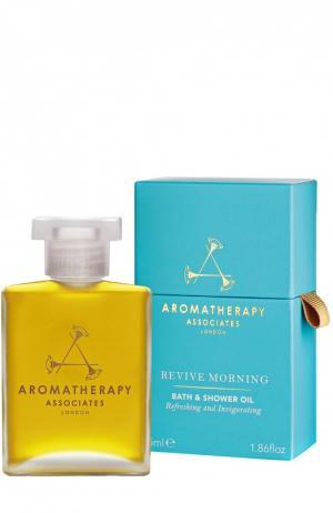 Утреннее тонизирующее масло для ванны и душа Aromatherapy Associates. Цвет: бесцветный