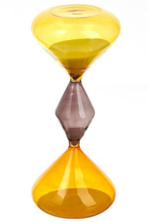Часы песочные ENS. Цвет: желтый, коричневый