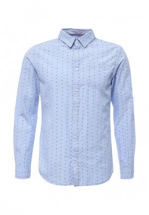 Рубашка E-Bound. Цвет: голубой