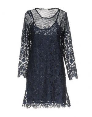 Короткое платье BELLA JONES. Цвет: темно-синий