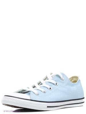 Кеды Converse. Цвет: голубой