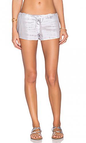 Окрашенные шорты Bettinis. Цвет: серый