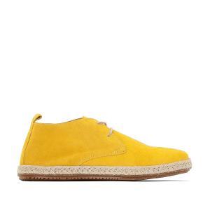 Ботинки-дерби в стиле эспадрилий BENSIMON. Цвет: желтый