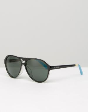 Toms Солнцезащитные очки-маска Marco. Цвет: черный
