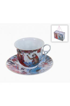 Чайный набор 4пр, 280 мл Polystar. Цвет: мультицвет