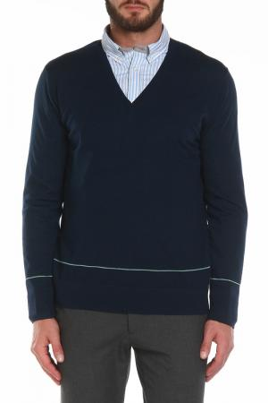 Пуловер Paul Smith. Цвет: синий