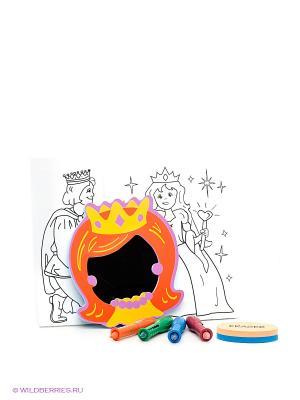 Набор для рисования в ванне Принцесса EDUSHAPE. Цвет: оранжевый