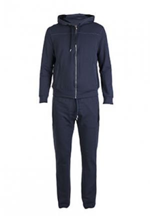 Спортивный костюм BILANCIONI. Цвет: синий