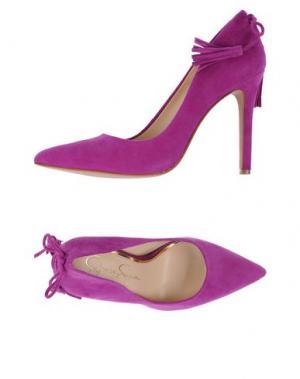 Туфли JESSICA SIMPSON. Цвет: фиолетовый