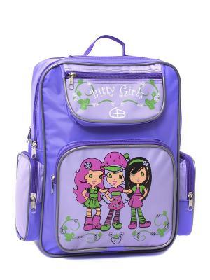 Ранец для учащихся начальных  классов 413815 GOOD BAG. Цвет: фиолетовый