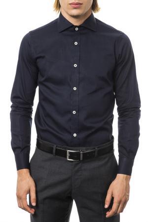Рубашка UominItaliani. Цвет: navy