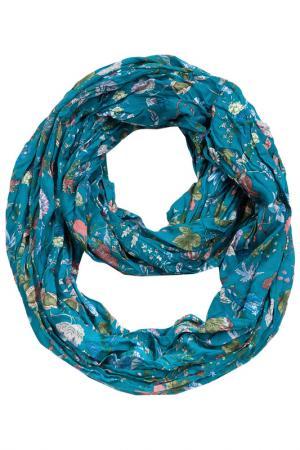 Палантин Labbra. Цвет: голубой
