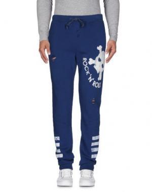 Повседневные брюки ROCK 'N' ROLL. Цвет: синий