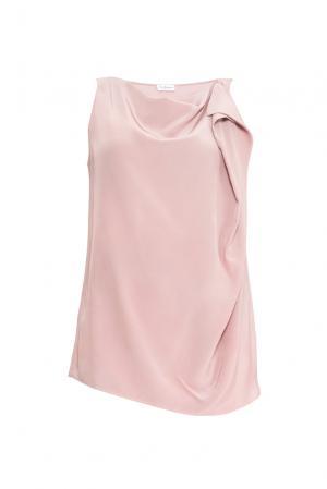 Топ из шелка 149510 Les Tendances. Цвет: розовый