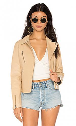 Куртка lou DOMA. Цвет: цвет загара