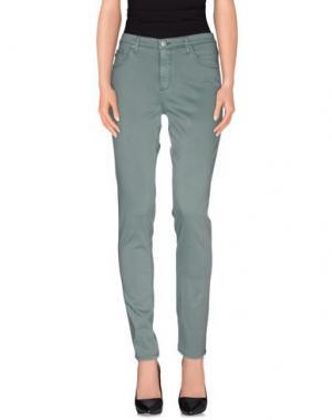 Повседневные брюки AG ADRIANO GOLDSCHMIED. Цвет: зеленый