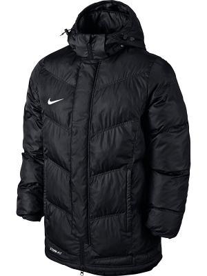 Куртка TEAM WINTER JACKET Nike. Цвет: черный, белый