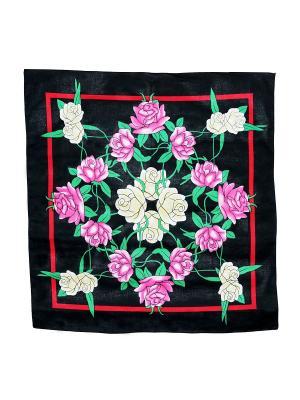 Платок Passigatti. Цвет: розовый, черный