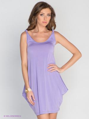 Платье DRS Deerose. Цвет: сиреневый