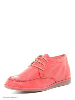 Ботинки Spur. Цвет: красный